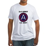 3RD ARMY Fitted T-Shirt