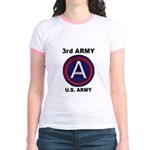 3RD ARMY Jr. Ringer T-Shirt