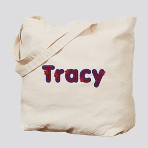 Tracy Red Caps Tote Bag