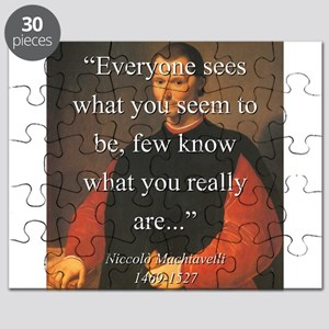 Everyone Sees What You Seem To Be - Machiavelli Pu