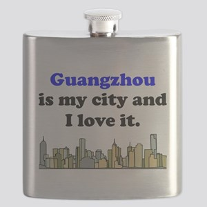 Guangzhou Is My City And I Love It Flask