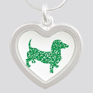 St. Patricks Day Dachshund Doxie Necklaces
