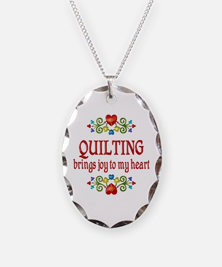Quilting Joy Necklace