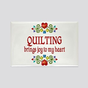 Quilting Joy Rectangle Magnet