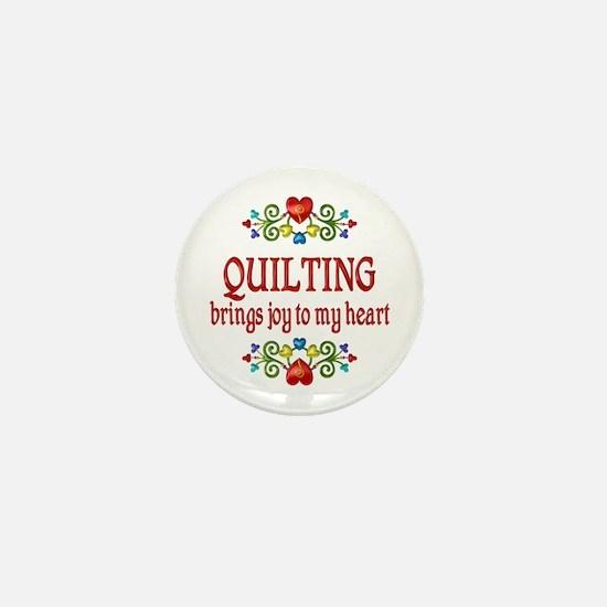 Quilting Joy Mini Button (10 pack)