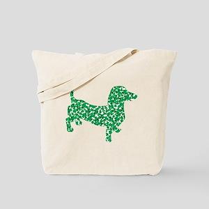 St. Patricks Day Dachshund Doxie Tote Bag