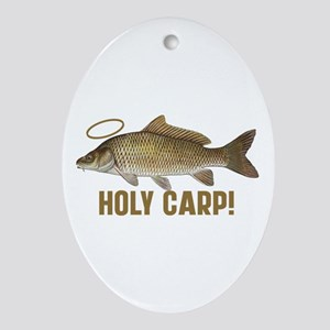 Holy Carp Ornament (Oval)