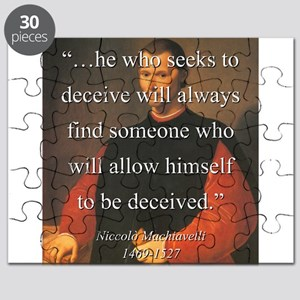 He Who Seeks To Deceive - Machiavelli Puzzle