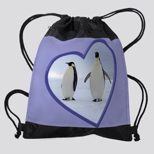 Emperor Penguin Drawstring Bag