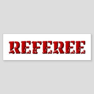 Referee in Red Bumper Sticker