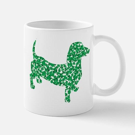 St. Patricks Day Dachshund Doxie Mug
