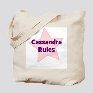 Cassandra Rules Tote Bag