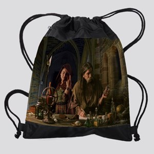 The Alchemist-11x14-300 Drawstring Bag