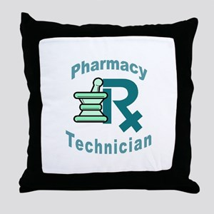 pharmacy technician Throw Pillow