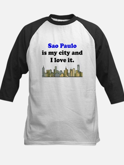 Sao Paulo Is My City And I Love It Baseball Jersey