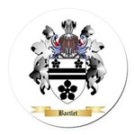 Bartlet Round Car Magnet