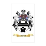 Bartlet Sticker (Rectangle 50 pk)
