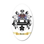 Bartle 35x21 Oval Wall Decal