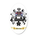 Bartlam Oval Car Magnet