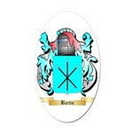 Bartie Oval Car Magnet