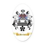 Barthot Oval Car Magnet