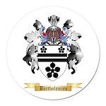 Bartholomieu Round Car Magnet