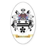 Bartholomieu Sticker (Oval 10 pk)