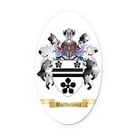 Bartholoma Oval Car Magnet
