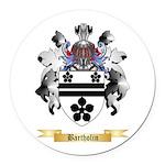 Bartholin Round Car Magnet