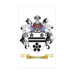 Bartholemew Sticker (Rectangle 50 pk)