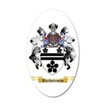 Bartholemew 20x12 Oval Wall Decal