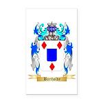 Bartholdy Rectangle Car Magnet