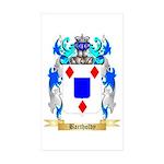Bartholdy Sticker (Rectangle 10 pk)
