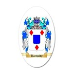 Bartholdy 20x12 Oval Wall Decal