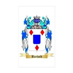 Barthold Sticker (Rectangle 10 pk)