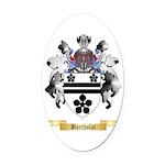 Bartholat Oval Car Magnet
