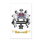 Bartholat Rectangle Car Magnet