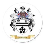 Bartholat Round Car Magnet