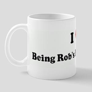 I Love Being Rob's Honey Bunn Mug