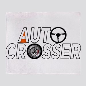 Auto Crosser Throw Blanket