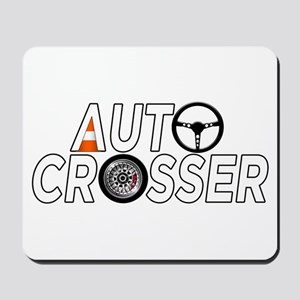 Auto Crosser Mousepad