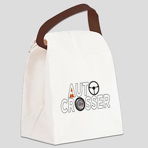 Auto Crosser Canvas Lunch Bag