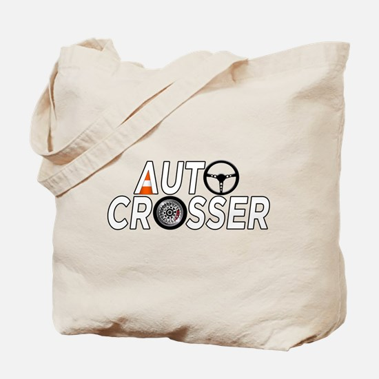 Auto Crosser Tote Bag