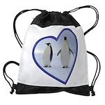 Emperor Penguins Drawstring Bag