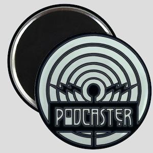 Podcaster Art Deco Magnet