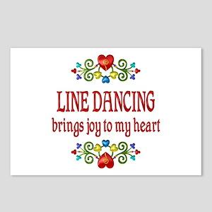 Line Dancing Joy Postcards (Package of 8)