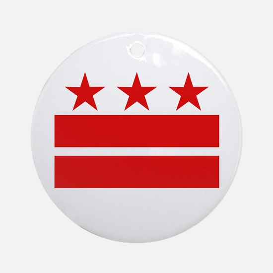 3 Stars 2 Bars Ornament (Round)