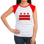 3 Stars 2 Bars Women's Cap Sleeve T-Shirt