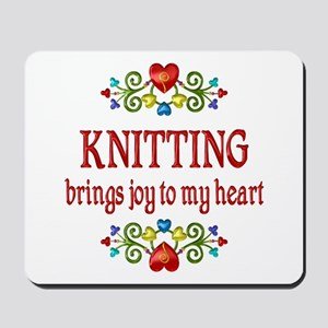 Knitting Joy Mousepad