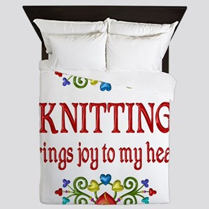 Knitting Joy Queen Duvet